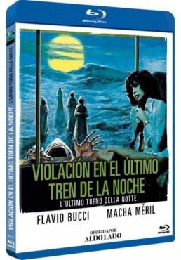 Violacion En El Ultimo Tren De La Noche (Blu-Ray) (BD-r) (L'Ultimo Treno Della Notte)