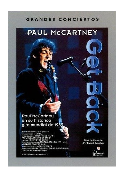 Grandes Conciertos: Paul McCartney - Get Back