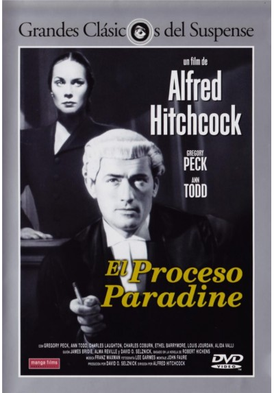 El Proceso Paradine (The Paradine Case)