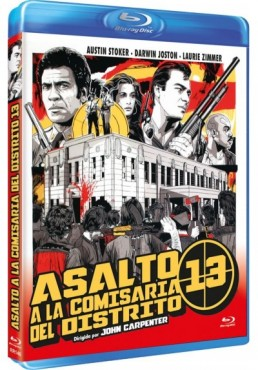 Asalto a la comisaría del distrito 13 (Blu-Ray) (Bd-R) (Assault on Precinct 13)