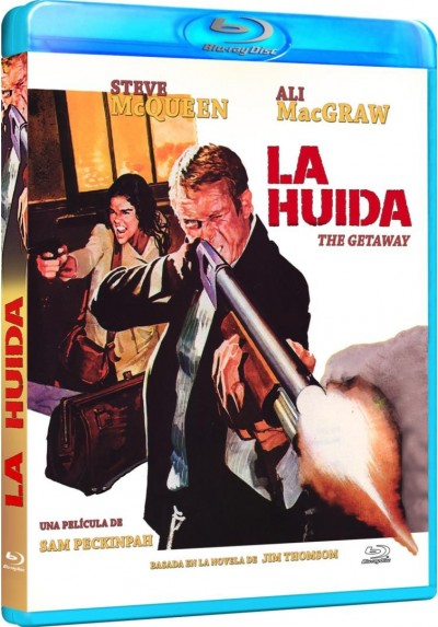 La Huida (1972) (Blu-Ray) (Bd-R) (The Getaway)