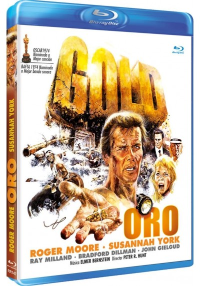 Oro (Blu-Ray) (Bd-R) (Gold)