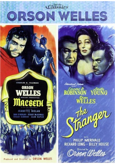 Pack Orson Welles - Macbeth y The Stranger