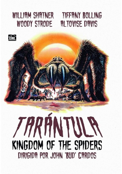 Tarantula (1955) (Kingdom Of Spiders)