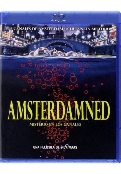 Amsterdamned : Misterio En Los Canales (Blu-Ray)