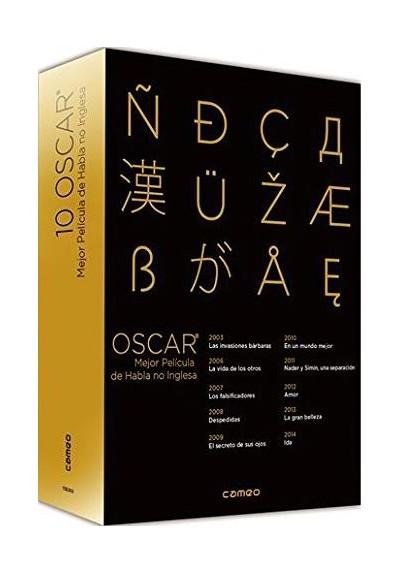 Pack Oscar - Mejor Pelicula De Habla No Inglesa