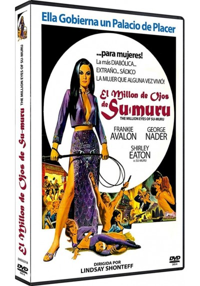 El Millon De Ojos De Sumuru (Dvd-R) (The Million Eyes Of Sumuru)
