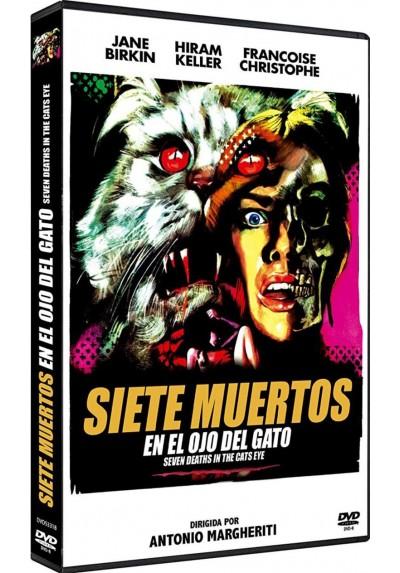 Siete Muertos En El Ojo Del Gato (Dvd-R) (La Morte Negli Occhi Del Gatto)