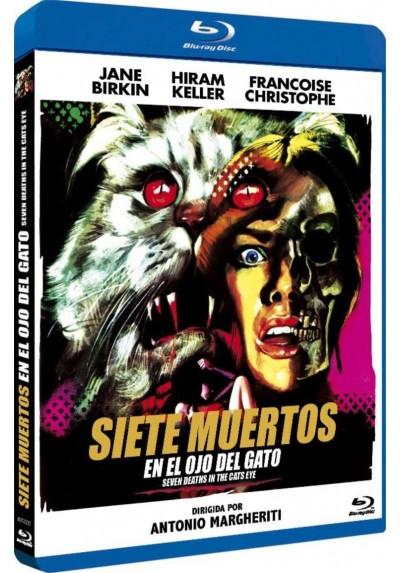 Siete Muertos En El Ojo Del Gato (Blu-Ray) (Bd-R) (La Morte Negli Occhi Del Gatto)