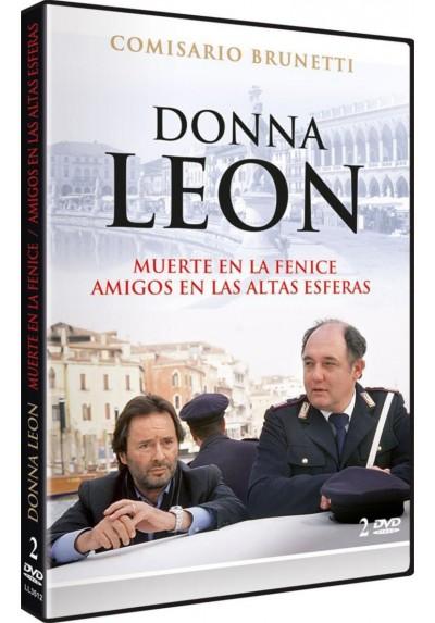Donna Leon: Muerte en la Fenice + Amigos en las Altas Esferas ( Venezianisches Finale + Feine Freunde)