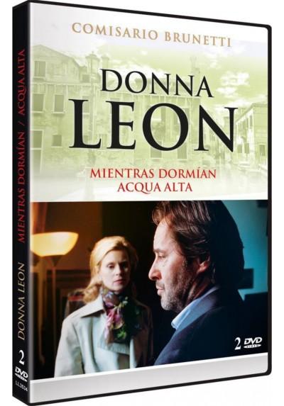 Donna Leon: Mientras Dormian + Acqua Alta (Sanft Entschlafen + Acqua Alta)