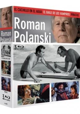 Pack Roman Polanski: El Cuchillo en el Agua + El Baile de los Vampiros + Pirata (Blu-Ray)