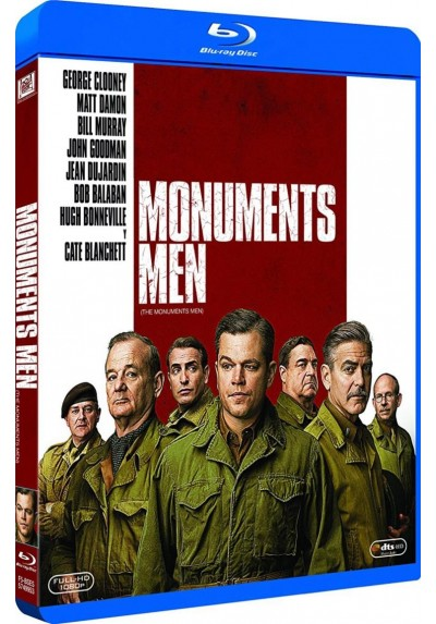 Monuments Men (Blu-Ray) (The Monuments Men)