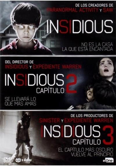 Pack Insidious - Trilogia
