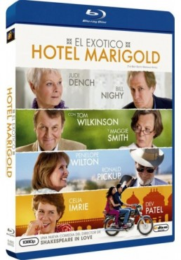 El Exotico Hotel Marigold (Blu-Ray) (The Best Exotic Marigold Hotel)