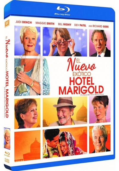 El Nuevo Exotico Hotel Marigold (Blu-Ray) (The Second Best Exotic Marigold Hotel)