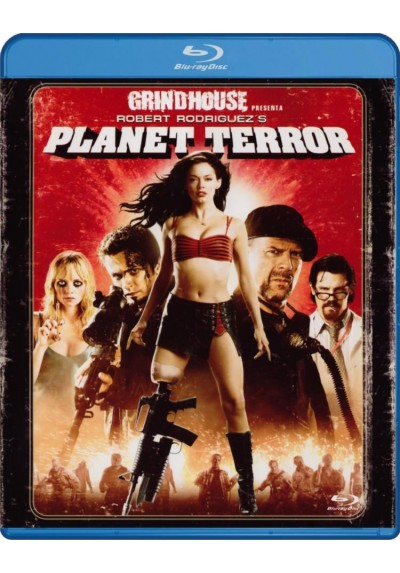 Grindhouse : Planet Terror (Blu-Ray)