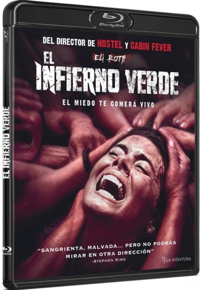 El Infierno Verde (Blu-Ray) (The Green Inferno)