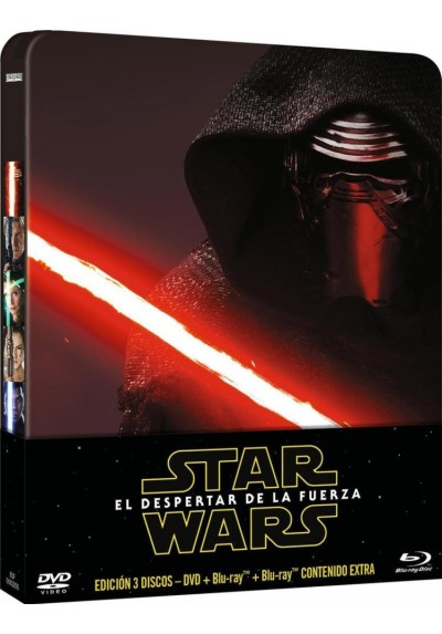 Star Wars Episodio VII : El Despertar De La Fuerza (Blu-Ray) (Ed. Metalica) (Star Wars: Episode VII - The Force Awakens)