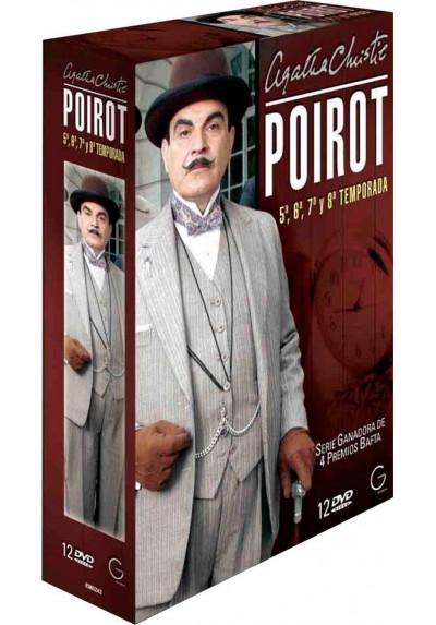 Poirot 5ª, 6ª, 7ª y 8ª Temporada - Agatha Chiristie