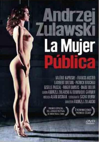 La Mujer Pública (La Femme Pulbique) (DVD-r)