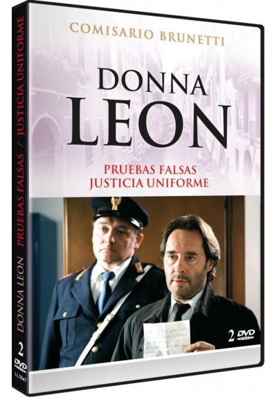 Donna Leon: Pruebas Falsas / Justicia Uniforme (Beweise, Dass Es Bose Ist / Verschwiegene Kanale)