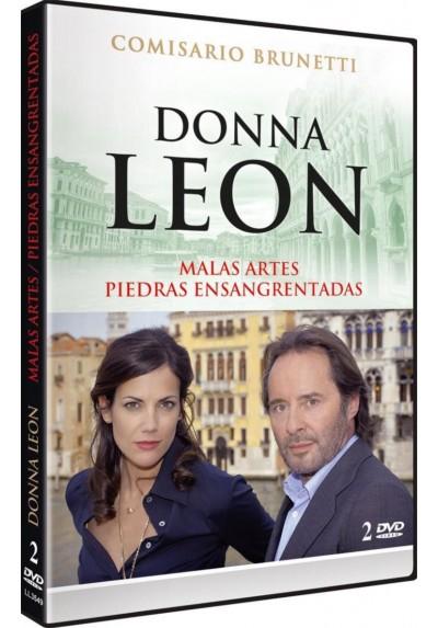 Donna Leon: Malas Artes / Piedras Ensangrentadas (Die Dunkle Stunde Der Serenissima / Blutige Steine)