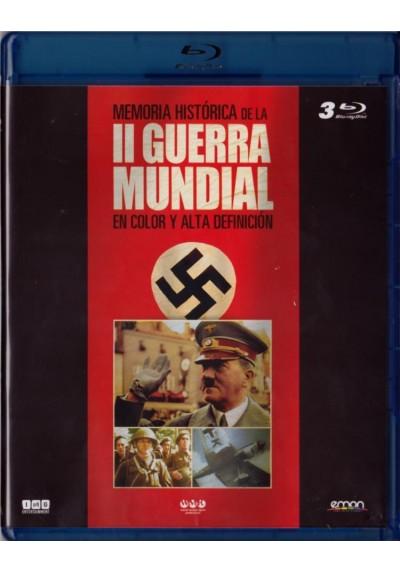 Memoria Historica De La II Guerra Mundial En Color (Blu-Ray)