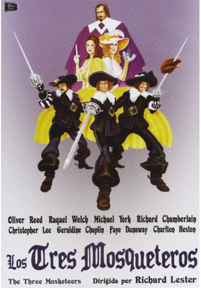 Los Tres Mosqueteros (1974) (The Three Musketeers)