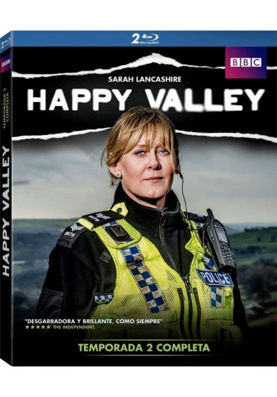 Happy Valley - 2ª Temporada (Blu-Ray)