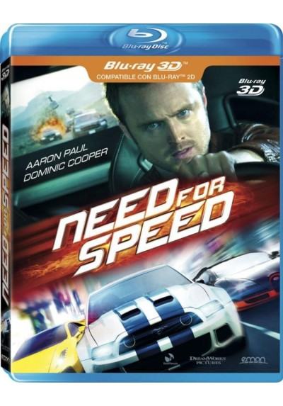 Need For Speed (Blu-Ray 3d)