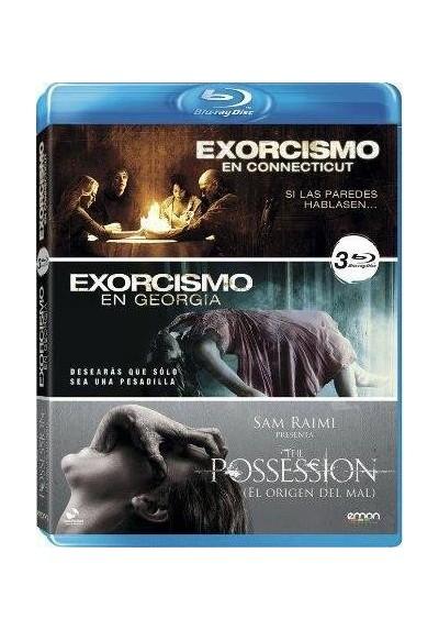 Pack Exorcismo En Connecticut / Exorcismo En Georgia / The Possession (Blu-Ray)