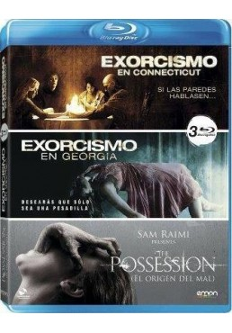 Pack Exorcismo En Connecticut / Exorcismo En Georgia / The Possession (Blu-Ray)