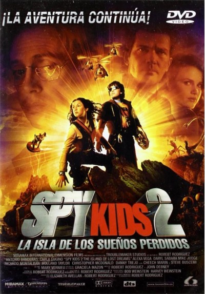 Spy Kids 2 : La Isla De Los Sueños Perdidos (Spy Kids 2: The Island Of Lost Dreams)