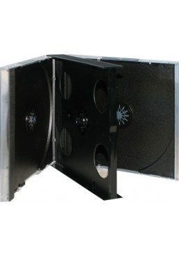 Estuche CD Jewell Box 20mm. (4 Disco)