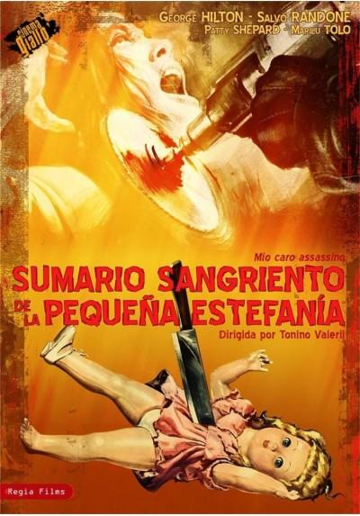 Sumario Sangriento De La Pequeña Estefania (Mio Caro Assassino)