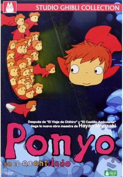 Ponyo En El Acantilado (Gake No Ue No Ponyo)