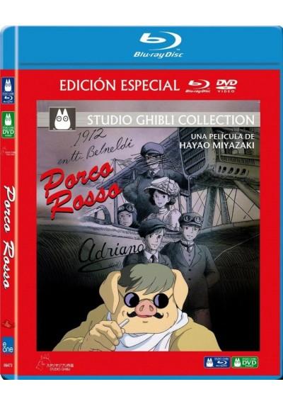 Porco Rosso (Blu-Ray + Dvd) (Kurenai No Buta)