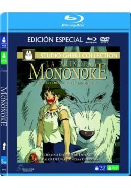 La Princesa Mononoke (Blu-Ray + Dvd) (Mononoke Hime)