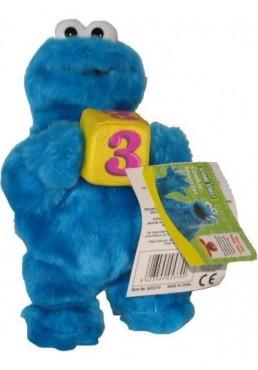 Triqui, el monstruo de las galletas con Dado de Barrio Sesamo - 22 cms.