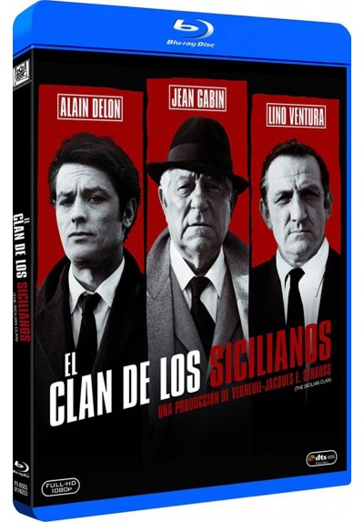 El Clan De Los Sicilianos (Blu-Ray) (The Sicilian Clan)