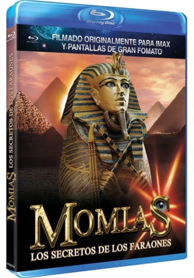 Momias, Los Secretos De Los Faraones (Blu-Ray) (Mummies: Secrets Of The Pharaohs)