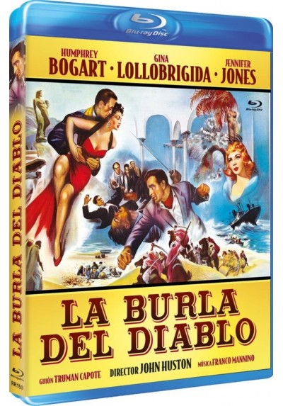La Burla Del Diablo (Beat The Devil ) (Blu-Ray) (Bd-R)