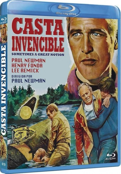 Casta Invencible (Blu-Ray) (Bd-R) (Sometimes A Great Notion)
