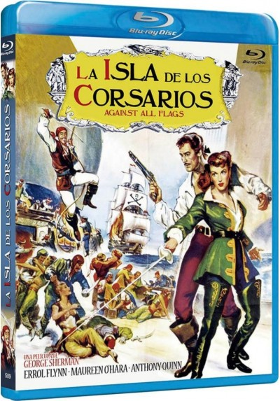 La Isla De Los Corsarios (Blu-Ray) (Bd-R) (Against All Flags)