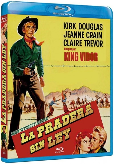 La Pradera Sin Ley (Blu-Ray) (Bd-R) (Man Without A Star)