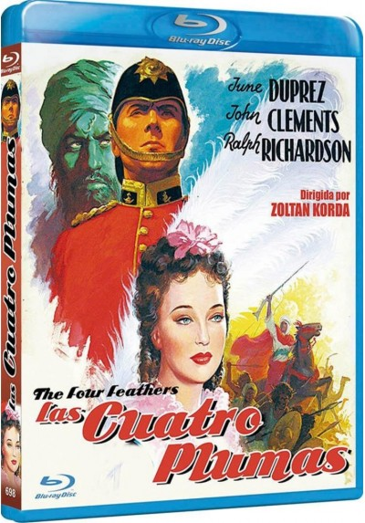 Las Cuatro Plumas (1939) (Blu-Ray) (The Four Feathers)
