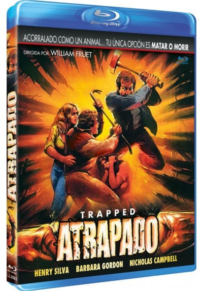 Atrapado (Blu-Ray) (Trapped)