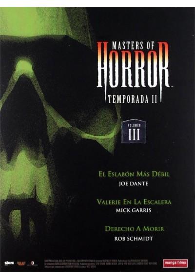 Masters Of Horror - II Temporada - Vol. 3