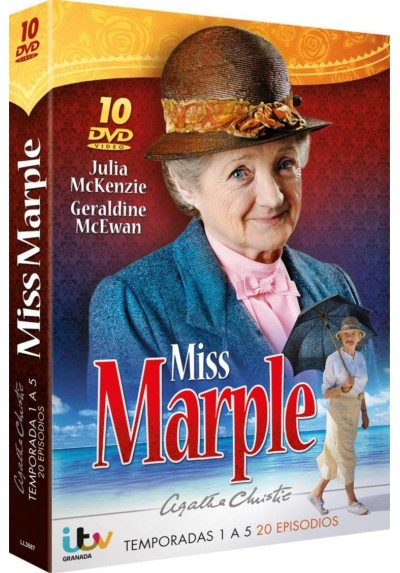 Pack Agatha Christie - Miss Marple - 1ª A 5ª Temporada
